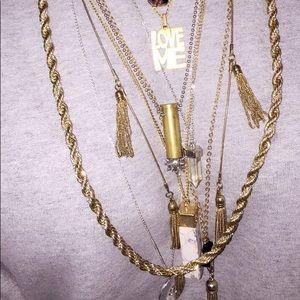 Monet Donkey Rope Twisted Gold Chain✨